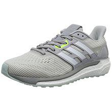 adidas Damen Supernova Sneakers, Grau (LGH Solid Grey/Footwear White/Mgh Solid Grey), 41 1/3 EU