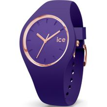 ICE WATCH Uhr rosegold / dunkellila