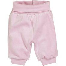 Schnizler Baby - Mädchen Hose Nicki Babyhose, Jogginghose mit elastischem Bauchumschlag, Oeko - Tex Standard 100, Gr. 86, Rosa (rose 14)
