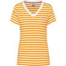 Tommy Jeans T-Shirt Tommy Classics T-Shirts gelb Damen