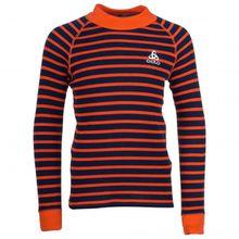 Odlo - Kid's BL Top Turtle Neck L/S Active Warm - Kunstfaserunterwäsche Gr 104;116;128;152;164 rot/schwarz;schwarz