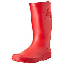 Bisgaard Unisex-Kinder Rubber Boot Star Gummistiefel, Rot (10 Red), 38 EU