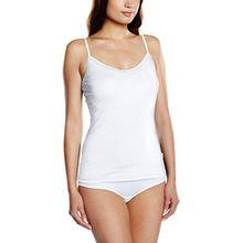 Sloggi Damen Unterhemd EverNew SH01, S, Weiß (WHITE 03)