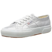 Superga Damen 2750 Lamew Sneakers, Silber (031), Gr. 40