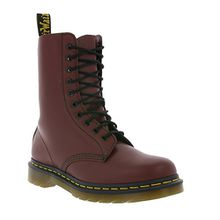 Dr. Martens 1490 Smooth 59 Last CHERRY RED, Unisex-Erwachsene Combat Boots, Rot (Cherry Red), 41 EU (7 Erwachsene UK)