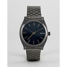 Nixon - A045 Time Teller - Armbanduhr in Silber, 37 mm - Silber