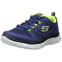 Skechers Flex Advantage, Jungen Sneakers, Blau (NVYL), 39.5 EU