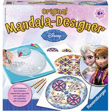 2in1 Mandala-Designer® Midi Set mit 2 Schablonen, Disney Frozen