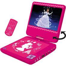 Disney Rapunzel DVD Player rosa/weiß