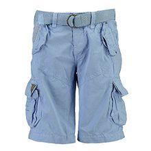 Geographical Norway Herren Cargo Shorts kurze Bermuda Hose Polish Men Sky (hell blau), Größe:XL