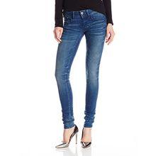 G-STAR Damen Lynn Nippon Superstretch Skinny Jeans mit Reißverschluss, Blau, W25/32L