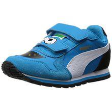 Puma ST Runner Sesame STR cm Kids, Unisex-Kinder Sneakers, Blau (Atomic Blue-Black 01), 32 EU (13 Kinder UK)