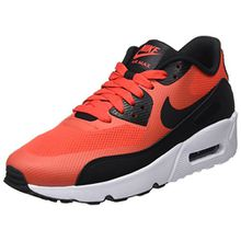 Nike Unisex-Kinder Air Max 90 Ultra ESS 2.0 GS Sneakers, Orange (Max Orange/Black/White), 40 EU