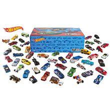 Hot Wheels 1:64 50er Geschenkset - 50 Fahrzeuge in einer Box!!!