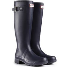Damen Hunter Original Tour Regen Winter Schnee Festival Gummistiefel - Marine - 39