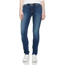 Wrangler Damen Jeans Slim Authentic Blue, Blau (Authentic Blue 85U), W28/L34