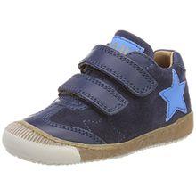 Bisgaard Unisex-Kinder Klettschuhe Sneaker, Blau (Navy), 34 EU