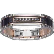 Atmosphere Armband, schwarz, Metallmix