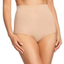 Triumph Damen Taillenslip, Second Skin Sensation Highwaist Panty, GR. Small (Herstellergröße: Small), Beige (Smooth Skin)