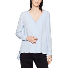 SELECTED FEMME Damen Bluse Sfvali LS Shirt, Blau (Xenon Blue), 38