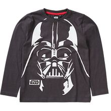 Star Wars Langarmshirt  grau Jungen Kinder