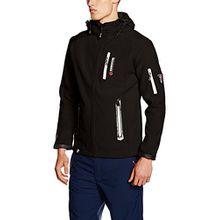Geographical Norway Herren Jacke Tevet Men Color, Schwarz (Black), XX-Large