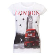 Love LolaDamen T-Shirt Weiß Weiß, Weiß - Weiß, XL