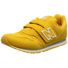 New Balance Unisex-Kinder Kv373v1y Sneaker, Gelb (Yellow), 29 EU