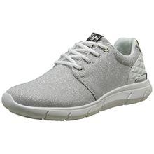 TOM TAILOR Damen 2791702 Sneaker, Silber (Silver), 40 EU