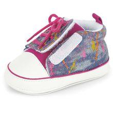 Sterntaler Baby-Schuhe - Farbflecken