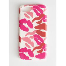Kisses iPhone Case - Pink