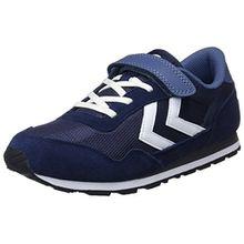 Hummel Unisex-Kinder Reflex JR Sneaker, Blau (Peacoat/Vintage Indigo), 30 EU