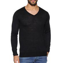 Soul Star Pullover in schwarz für Herren