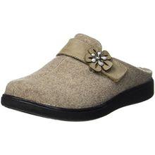 Romika Damen Gomera 03 Pantoffeln, Beige (Beige-Kombi (201)), 39 EU