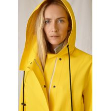 CLOSED Closed x Girbaud Rain Coat neon yellow