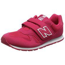 New Balance Unisex-Kinder Kv373v1y Sneaker, Pink, 32.5 EU