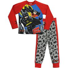 Lego Heroes Jungen Lego Batman Schlafanzug Batman & Robin 134