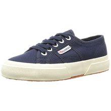 Superga 2750 Jcot Classic, Unisex-Kinder Sneakers, Blau (933), 31 EU (12.5 Kinder UK)
