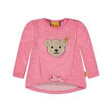 Steiff Collection Mädchen Sweatshirt 1/1 Arm 6833123, Rosa (Morning Glory 2998), 98