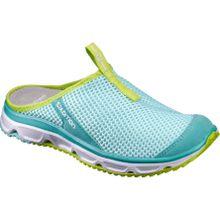 Salomon - RX Slide 3.0 Damen Mountain Lifestyle Sandale (türkis/hellgrün) - EU 42 - UK 8