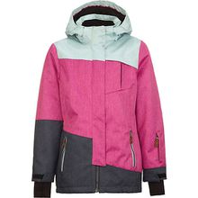 Skijacke mit abnehmbarer Kapuze BAHA  pink Mädchen Kinder
