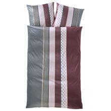 Mako Satin Bettwäsche 'Cornflower Stripes', JOOP!