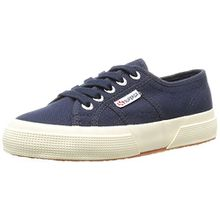 Superga 2750 Jcot Classic, Unisex-Kinder Sneakers, Blau (933), 35 EU (2.5 Kinder UK)