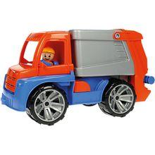 Truxx: Müllwagen, 30 cm blau/orange