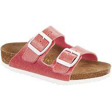Sandale Arizona Birko-Flor K schmal  pink Mädchen Kinder
