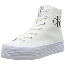 Calvin Klein Jeans ZABRINA CANVAS, Damen Sneakers, Weiß (WHT), 39 EU