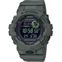CASIO Smartwatch 'GBD-800UC-3ER' dunkelgrau / dunkelgrün