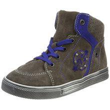 Richter Kinderschuhe Jungen Ola Hohe Sneakers, Mehrfarbig (Pebble/Cobalt 6611), 30 EU