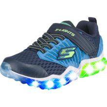 SKECHERS Sneakers 'Rapid Flash Uproar' enzian / himmelblau / neongrün