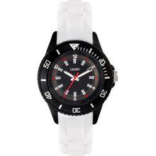 S.Oliver Uhr 'SO-3637-PQ' rot / schwarz / weiß